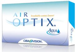 AIR OPTIX AQUA LENTE DE CONTACTO MENSUAL